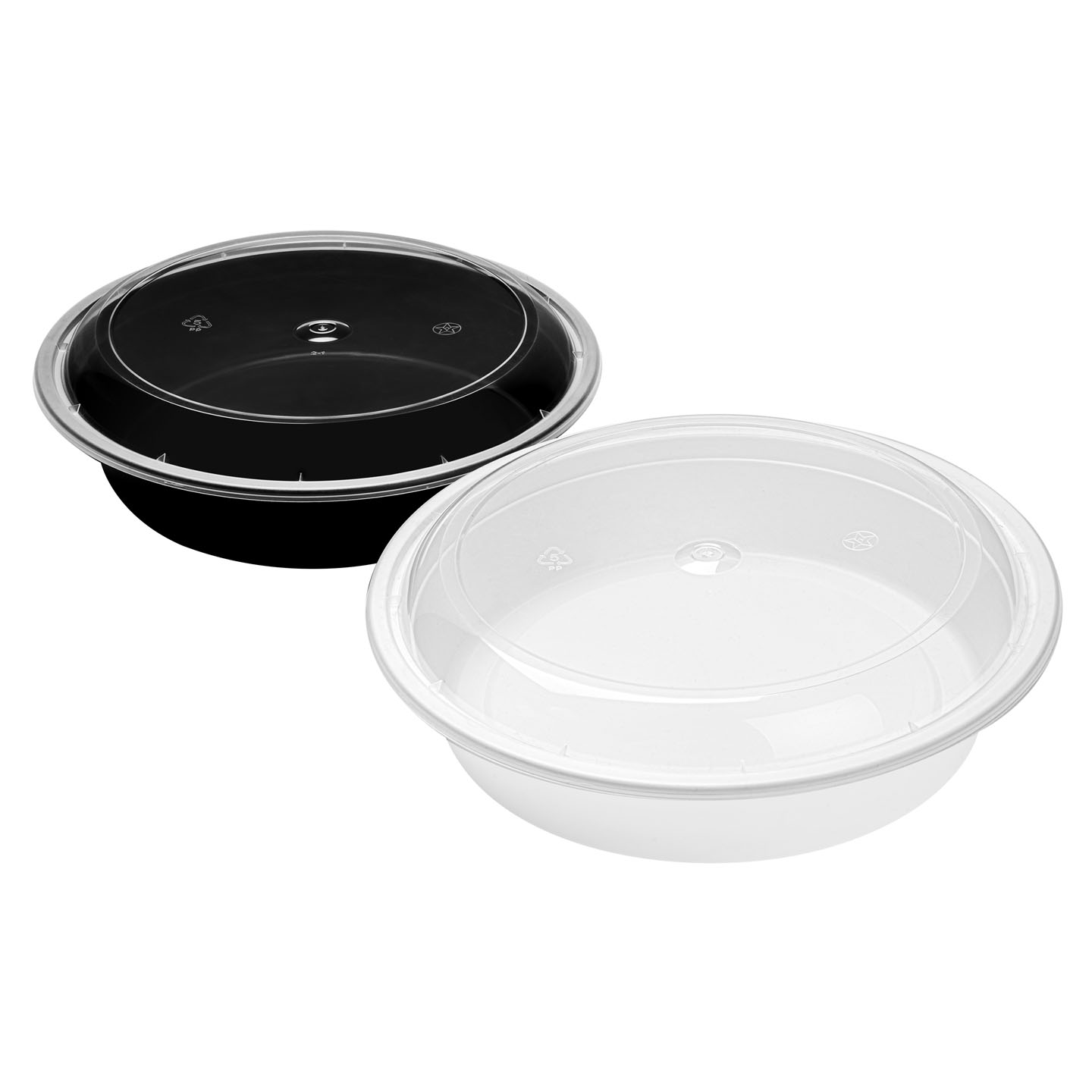 WY BOWLS - 948 Black+White - Combo